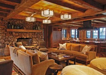 inside of a cabin